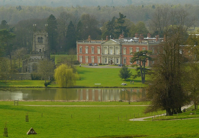 Staunton Harold by Colin'sPic's, via Flickr.  Staunton Harold Hall is a country house that was originally Jacobean, but the 13th Baron had it enlarged in about 1700.  Sir Robert Shirley built the church in the hall grounds in 1653 in defiance of Oliver Cromwell.