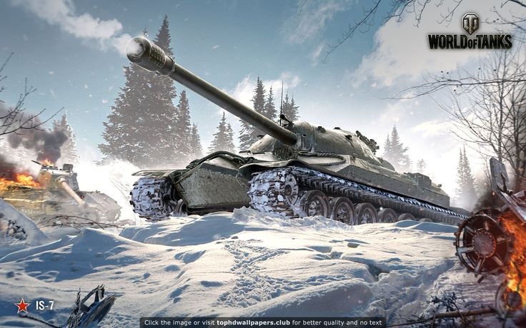 IS World of Tanks HD wallpaper for your PC, Mac or Mobile device