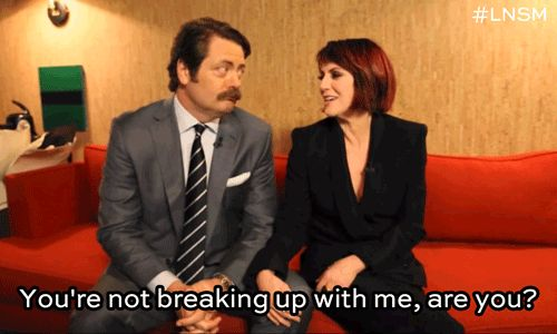 Cutest. Couple. Ever. | Community Post: Nick Offerman And Megan Mullally Are Really Into Puzzles And It's...