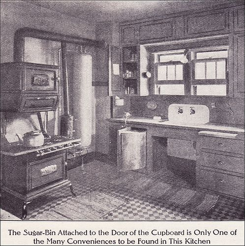 Bungalow Interior Design Kitchen: 1911 Kitchen With Boiler & Gas Range By American Vintage