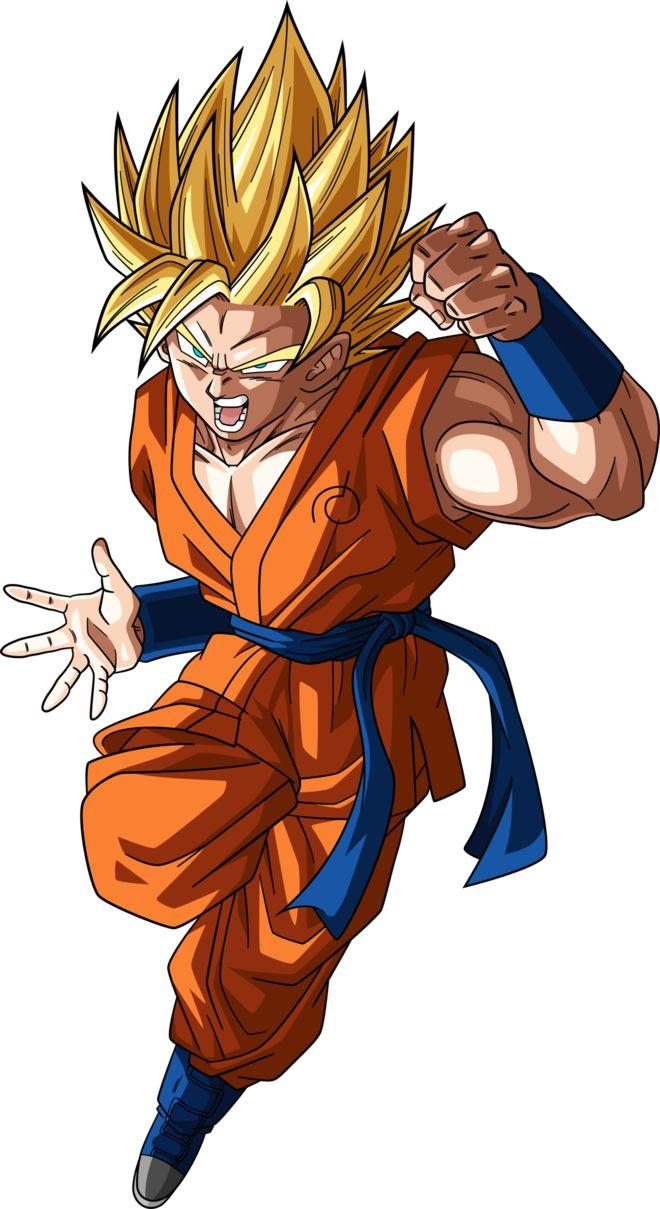 SSJ2 Goku (Dragonball Super) #2 Alt Palette #3 by RayzorBlade189