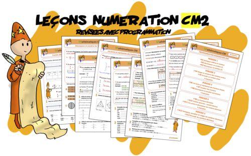 Mathématiques - NUMÉRATION - Leçons Numération CM2