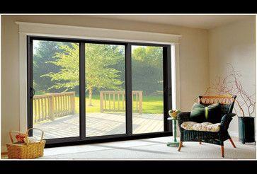 Aluminum Sliding Glass Doors modern screen doors