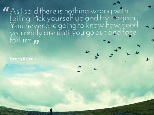 Henry Kravis on failing