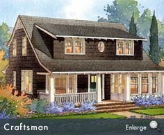 craftsman homes with large dormers - Google Search