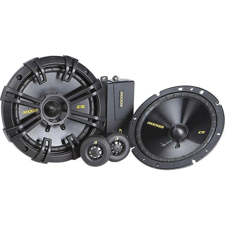 Set de medios Kicker CSS654 6.5 pulgadas 300 watts pico