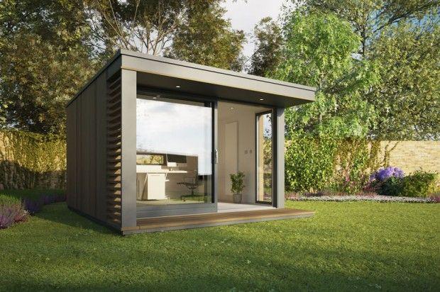 Британская компания Pod Space производит и продаёт сборные небольшие садовые здания, которые сделаны и используются, как офисы, студии, гостевые комнаты…