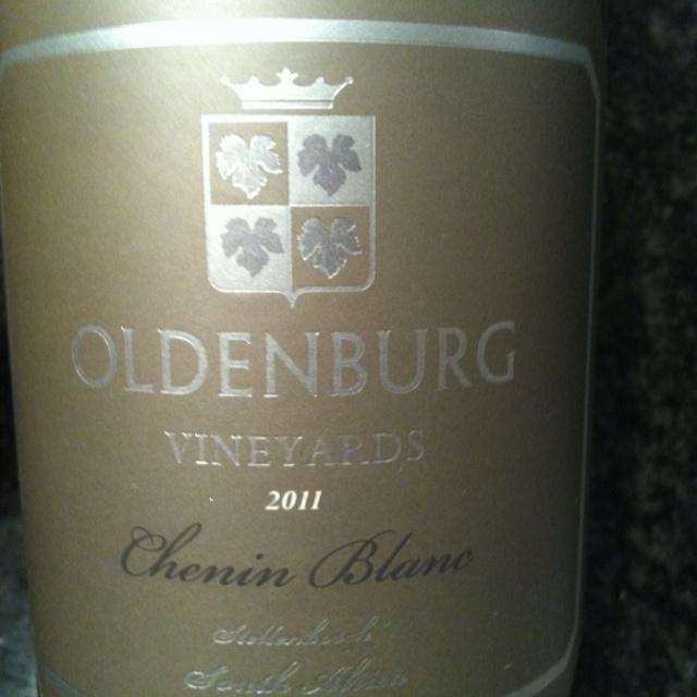 Oldenburg Chenin Blanc 2011, went down well!