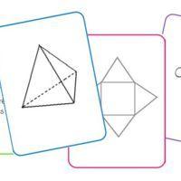 U n petit jeu de cartes pour travailler sur les solides. Les cartes peuvent servir à plusieurs jeux : mistigri, mémory, quizz... I l y a 4 types de cartes différentes : - des cartes avec les...