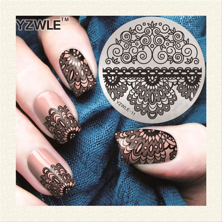 0.4$  Buy here - Factory Price Retail 2017 NEW Designs Nail Art Template Fashion Stainless Steel Stamp Image Plate For Girl Manicure Salon   #magazine