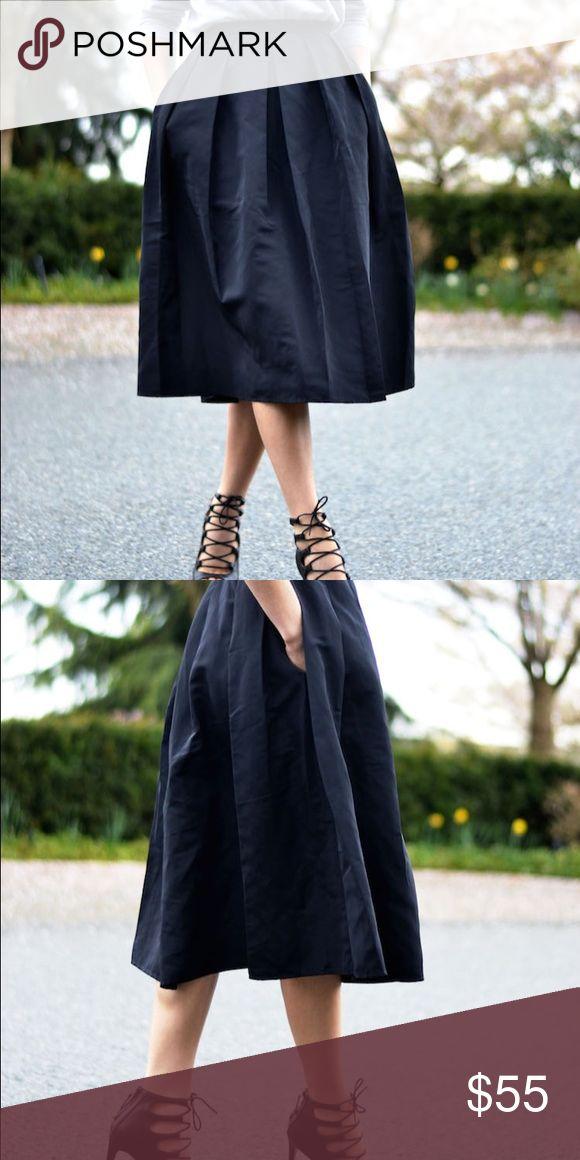 Midi Skirt With Images Midi Skirt Black Midi Skirt Skirts