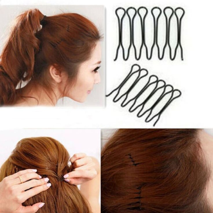 Azerin 2 pz Donne Girl Fashion Hair styling Clip Stick Bun Maker Accessori Per Capelli Treccia Attrezzo Spedizione Gratuita