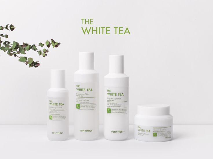 Kết quả hình ảnh cho THE WHITE TEA BRIGHTENING LOTION