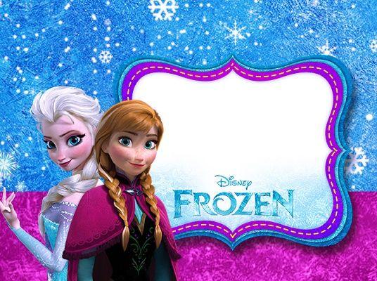 Imágenes y marcos <b>de Frozen</b>