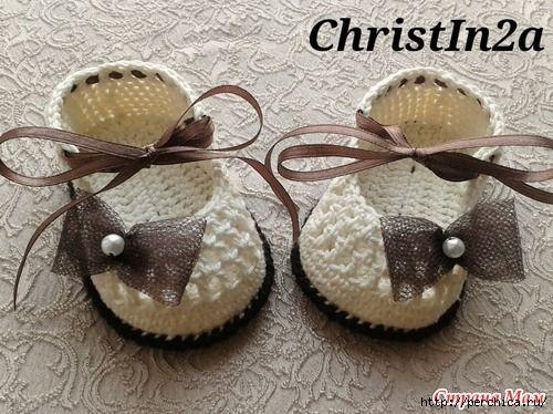 Первые туфельки для маленькой золушки - много идей и мк