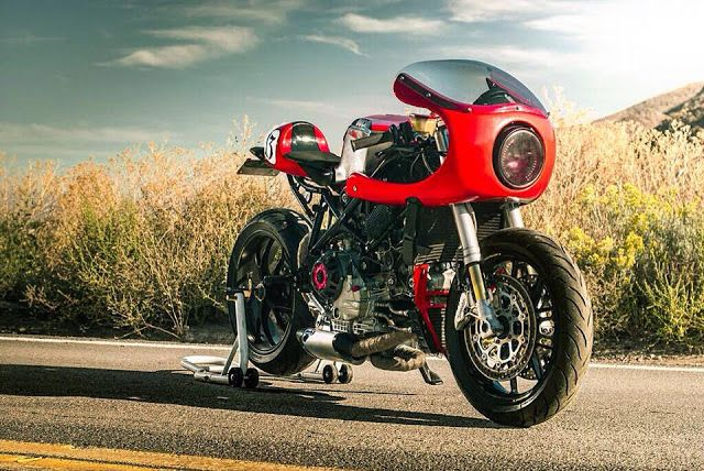 Ducati 749 Cafe Racer Half Fairing - Photo by Folk Photography #motorcycles #caferacer #motos   caferacerpasion.com
