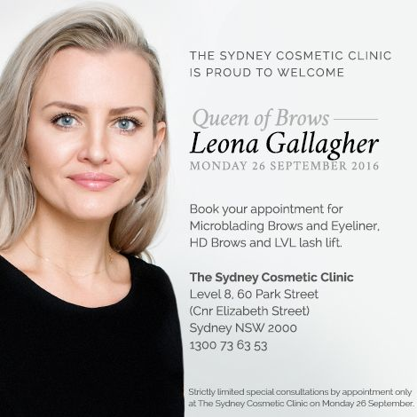 Leona Gallagher from Simply Laser, Brisbane City will be joining Sydney Cosmetic Clinic from Mon 26 September. She'll be performing the following procedures: Microblading for Eyebrows & Eyeliner; HD Brows & LVL Lashes. Leona does absolutely beautiful work and both George and I personally endorse the quality of her work. That's why we've asked her to join us! We're offering FREE Consultations for 26th September to come in and have a chat to her. Call 1300 736 353 to book.