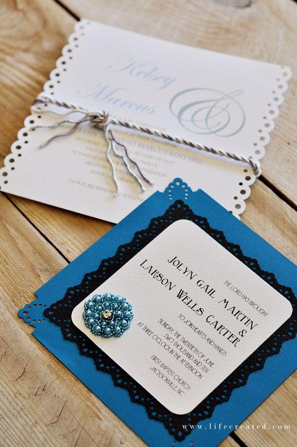 508 best DIY Wedding Invitations Ideas images – Ideas for Diy Wedding Invitations