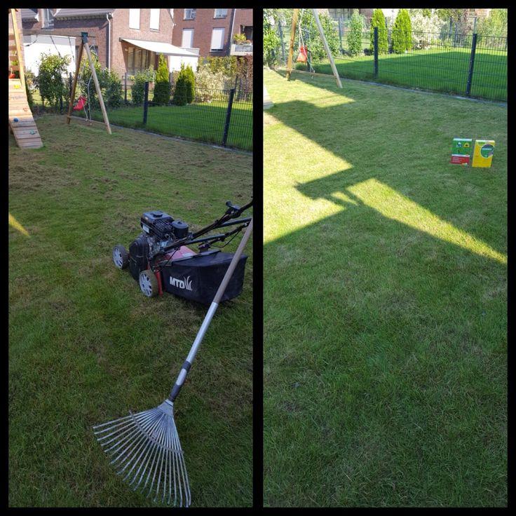 Perfect Eine Neugestaltung im Garten wird nat rlich mit einer passenden Pflege f r Pflanzen Rasen und Beete