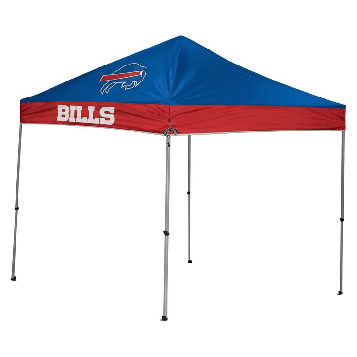 Rawlings NFL Buffalo Bills 9'x9' Straight Leg Canopy Tent