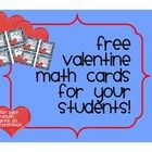 Give your students a little MATH love this Valentine's Day with these FREE printable Valentine Cards with Math sayings.