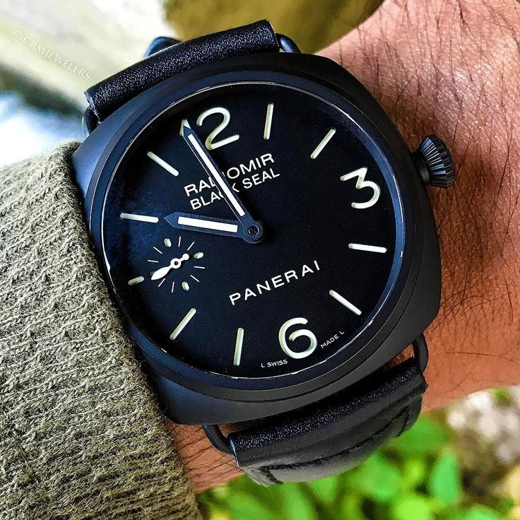 Panerai Black Seal  This blackout is too serious  Email // Call for more info $5450