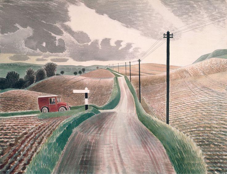ravilious giclee print wiltshire landscape