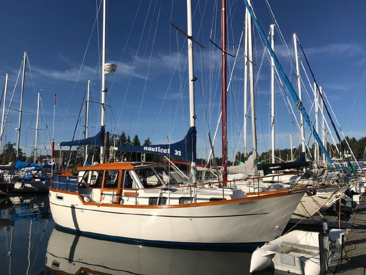 ++1986 Nauticat 33 Pilothouse in BC