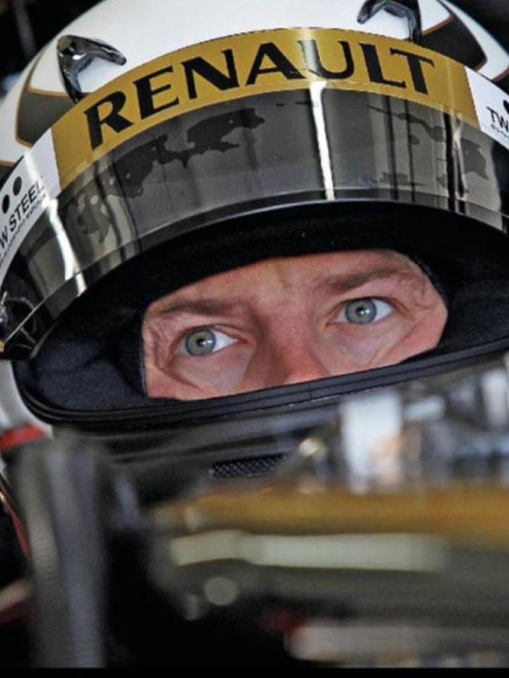 Kimi Raikonnen #Lotus F1- I am his biggest fan... love him