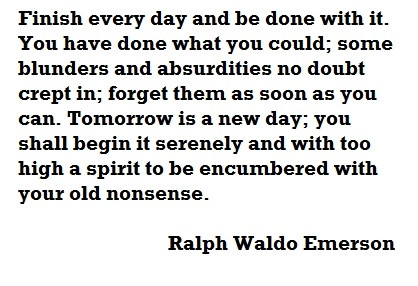 Daily inspirationFocus On Tomorrow, Words Of Wisdom, Famous Quotes, Remember This, Inspiration, Daily Quotes, Emerson Quotes, Ralph Waldo Emerson, Favorite Quotes