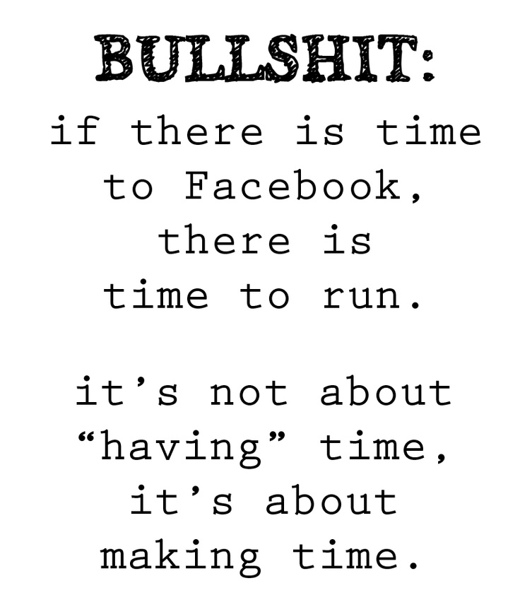 It's about making time