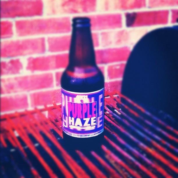 My Abita Purple Haze beer!!!!