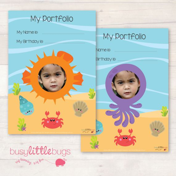 SEA CREATURES CHILD PORTFOLIO
