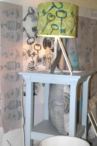 Block Printed Lampshades Course