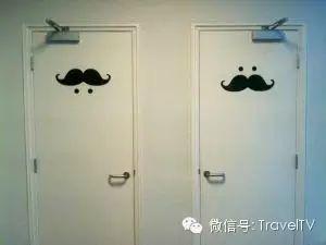 世界各地的男女厕所标志,看着让人捉急…