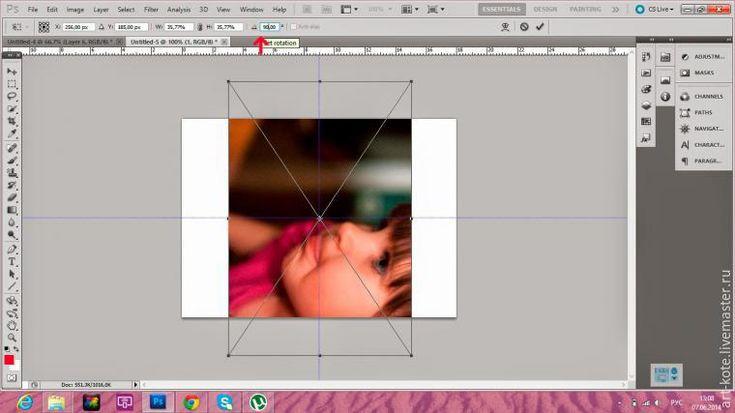 Печать маленьких и квадратных фото для скрапальбома — подготовка в Photoshop