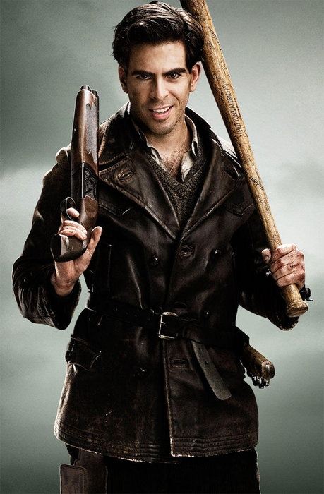 Eli Roth as Sgt Donny Donowitz. Oh dear god, I can't even handle it
