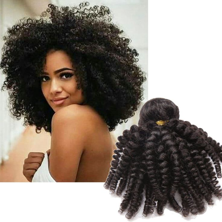 """12"""" 100% Brazilian Real Human Hair Extension Virgin Kinky Curly Hair Weft 150g #Unbranded"""