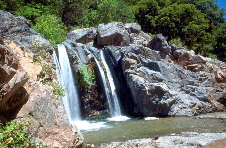 South Yuba River waterfall