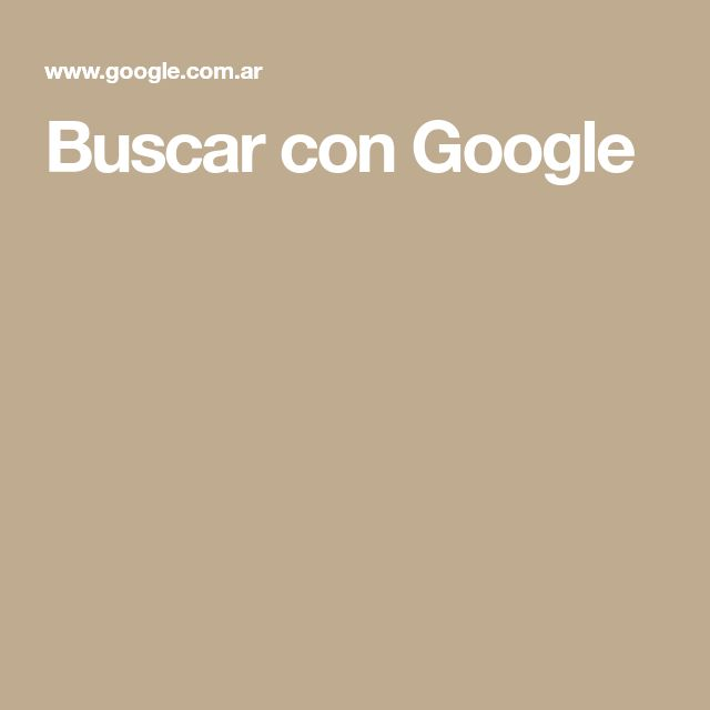 Buscar con Google