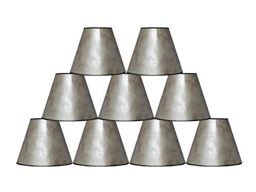 9 best lamp shades images on pinterest lampshades lamp shades fleur de lis living mica bell lamp shade set of 9 finish silver mozeypictures Image collections