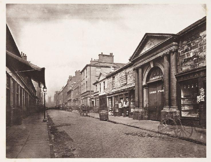 King Street, Glasgow, 1868