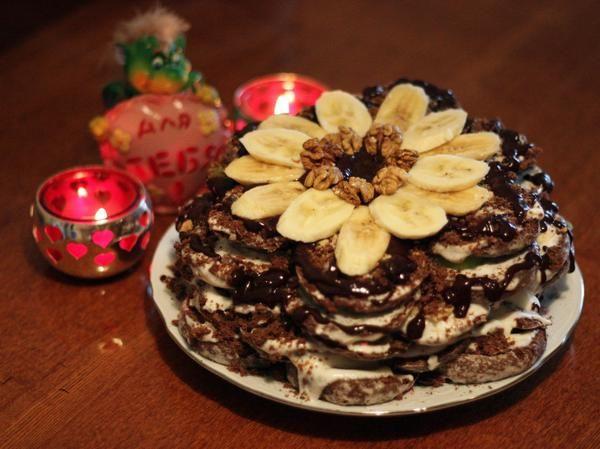 Шоколадный торт без выпечки / торты / 7dach.ru