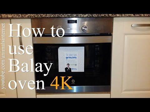 How to use a Balay (Bosch, Siemens) electric oven 3HB505XM step by step | Como usar um forno elétrico Balay (Bosch, Siemens) 3HB505XM passo por passo | 4K UHD 2160p.  Watch the youtube.com/animalsinternet video at https://www.youtube.com/watch?v=bC8oAdabFt0&feature=youtu.be.  #3HB505XM #balay #bosch #siemens #oven #technology #tech #gourmet #recipe #homemade #cookery #kitchen #cooking #delicious #yummi #food #cook #drink #beverage #forno #tecnologia #receita #caseiro #culinária #cozinha #4k…