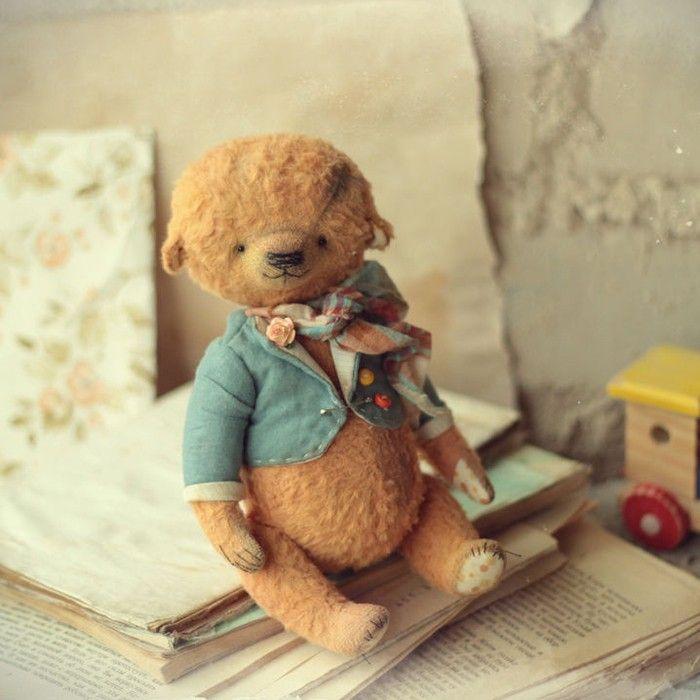 «Маленький джентльмен тедди-мишка Лёвушка от Рины (888katiteddy888.livemaster.ru) — работа дня на Ярмарке Мастеров  #livemaster #handmade #cute #toy #teddy…»