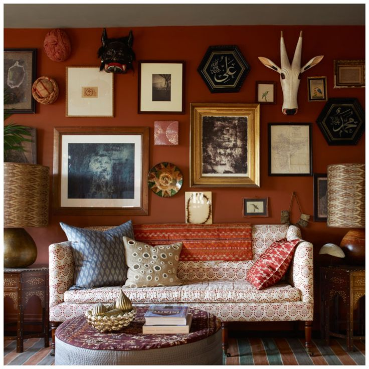 Farrow And Ball Red Earth Marianna Riley