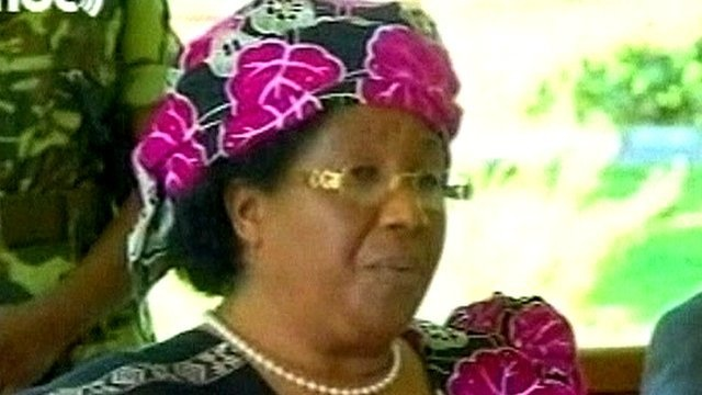 Hurrah! Joyce Banda sworn in as new Malawi President.  Southern Africa's first female head of state who has an impressive background supporting women's rights and education!  Via BBC