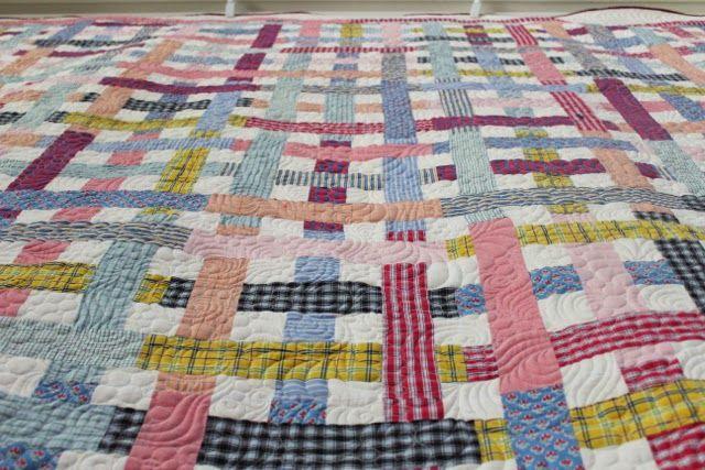 Memorial Quilt: Men's Cotton Shirt Quilt ~ Rachael Rabbit