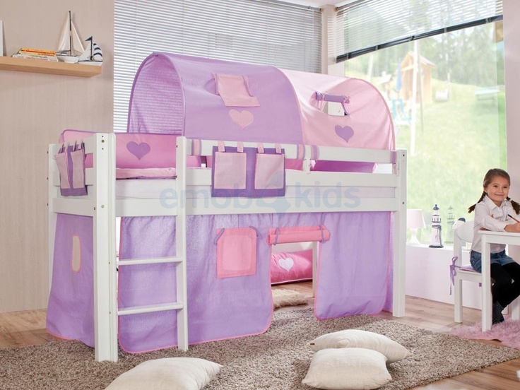 25 beste idee n over meisjes slaapkamer paars op pinterest paarse kinderkamers lavendel - Cabine slaapkamer meisje ...