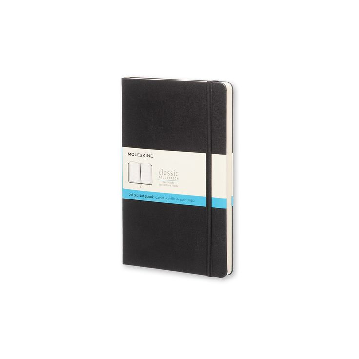 Moleskine Dotted Journal Large - Black Hardcover